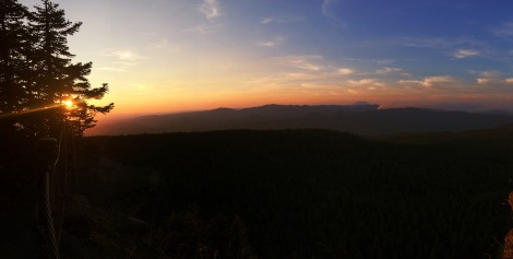 Sherrard Point, Larch Mountain, Oregon
