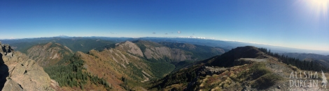 If you look closely, you can see all four mountains! Click to view larger.
