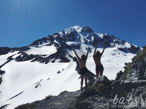 mountain babes mt hood mcneil point